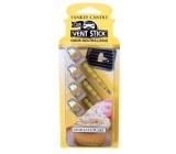 Yankee Candle Vanilla Cupcake - Vanilkový košíček vonné kolíčky do auta vonné kolíčky do auta 29 gx 4 kusy