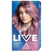 Schwarzkopf Live Lightener & Twist barva na vlasy 105 Purple Rose Gold