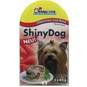 Gimborn Shiny Kurča + jahňa doplnkové krmivo pre psov 2 x 85 g