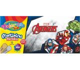Colorino plastelína Marvel Avengers 12 farieb