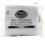 Athena Beauté Mature Skin Odličovací vlhčené ubrousky 25 kusů