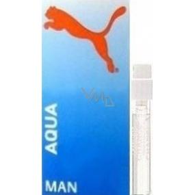 Puma Aqua Man toaletní voda 1,2 ml s rozprašovačem, Vialka