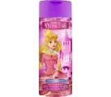 Disney Princess - Popelka 2v1 sprchový gél a šampón do kúpeľa ružový 400 ml
