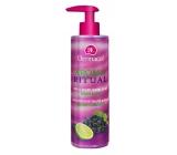Dermacol Aroma Ritual Hrozno s limetkou Antistresové mydlo na ruky 250 ml