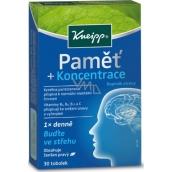 Kneipp Paměť + koncentrace doplněk stravy 30 tobolek