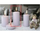 Lima Ice pastel sviečka fialová valec 60 x 120 mm 1 kus