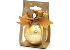 Nekupto Vianočné gule Prianie sa plnia ... 11 x 6 cm
