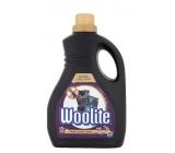 Woolite Dark Black & Denim tekutý prací prostriedok s keratínom na tmavé a čierne prádlo 30 dávok 1,8 l