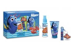Disney Hľadá sa DoryToaletní voda 100 ml + sprchový gél + šampón 150 ml + balzam na pery + kľúčenka pre deti darčeková sada