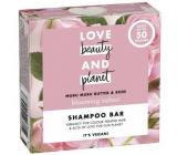 Love Beauty & Planet Murumurské maslo a Ruže tuhý šampón pre farbené vlasy 90 g