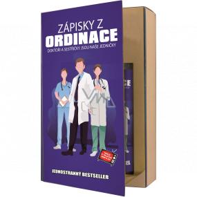 Bohemia Gifts Doktor sprchový gél 200 ml + šampón na vlasy 200 ml, kniha kozmetická sada
