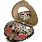 Body Collection Kosmetická paleta ve tvaru srdce 6160 1 kus