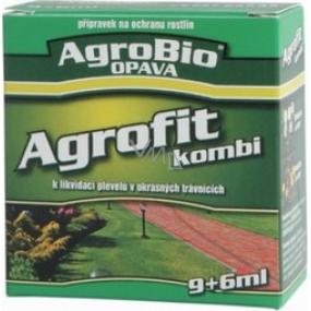 AgroBio Agrofit Kombi k likvidaci plevelů v okrasných trávnících 9+6 ml