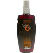 Nubian OF6 Olej na opaľovanie nízka ochrana 150 ml sprej