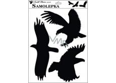 Samolepka siluety ptáci 42 x 30 cm č.1
