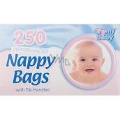 Baby 4My sáčky na použité detské plienky s vôňou 250 kusov