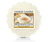 Yankee Candle Spice White Cocoa - Kořeněné bílé kakao vonný vosk do aromalampy 22 g