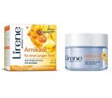 Lirene Essential Oils Arnica Arnikový olej intenzivní vyhlazující krém proti vráskám 50 ml