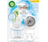 Air Wick Life Scents Linen in the Air - Prádlo ve vánku elektrický osvěžovač vzduchu komplet 19 ml