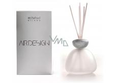 Millefiori Air Design Difuzér mramorový vršek šedý - matné sklo
