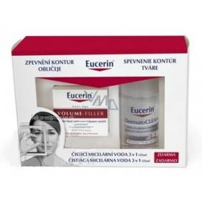 Eucerin Volume Filler denný krém 50 ml + 3v1 micelárna voda 125 ml zdarma, kozmetická sada