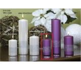Lima Stuha sviečka lila valec 50 x 100 mm 1 kus
