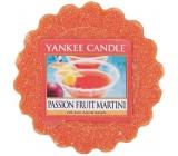 Yankee Candle Passion Fruit Martini - Tropický koktail s Martini vonný vosk do aromalampy 22 g