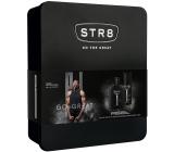 Str8 Rise toaletná voda pre mužov 50 ml + dezodorant sprej 150 ml, darčeková sada