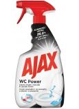 Ajax WC Power univerzálny čistiaci prostriedok, pre upratovanie vnútrajšku i vonkajšku toalety, inovatívne 360 stupňová hlavice, rozprašovač 500 ml
