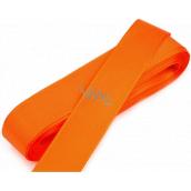 Nekupto Stuha látková taftová oranžová 3 mx 15 mm