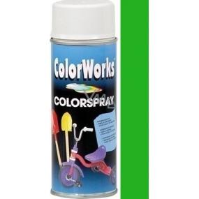 Color Works Colorspray 918525 světle zelený alkydový lak 400 ml