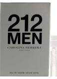 DÁREK Carolina Herrera 212 Men toaletní voda 1,5 ml s rozprašovačem, Vialka