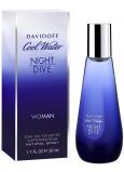 Davidoff Cool Water Night Dive Woman toaletní voda 30 ml