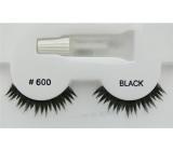 Face System Eye Lashes umělé řasy AC 600 1 pár + lepidlo 1 g
