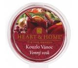 Heart & Home Kouzlo vánoc Sojový přírodní vonný vosk 27 g