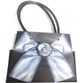 Nekupto Dárková papírová taška malá 19 x 14 x 9 cm kabelka PVC ucho 037 LCS