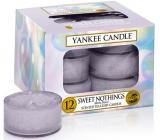 Yankee Candle Sweet Nothings - Sladké nič vonná čajová sviečka 12 x 9,8 g