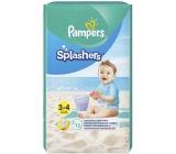 Pampers Splashers 3-4 jednorázové plienky do vody 6-11 kg 12 kusov