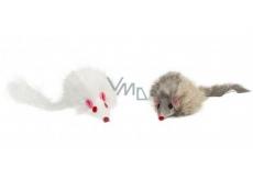 Trixie Chlpatá myš hračka pre psov 8 cm 2 kusy