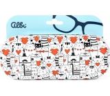 Albi Original Puzdro na okuliare plechové Mačky 15,7 x 6,2 x 3,2 cm