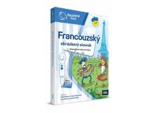 Albi Kúzelné čítanie Kniha Francúzsky obrázkový slovník