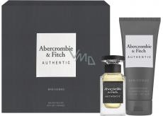 Abercrombie & Fitch Authentic Man toaletná voda pre mužov 50 ml + sprchový gél 200 ml, darčeková sada