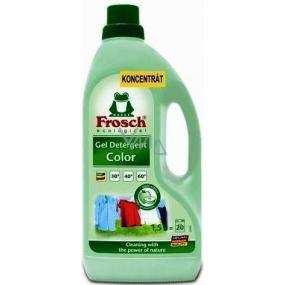 Frosch Eko koncentrát tekutý prací přípravek na barevné prádlo 1,5 l