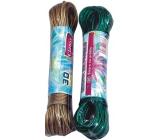 Clanax Šnúra na bielizeň oceľové lanko rôzne farby 30 m 1 kus