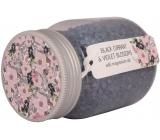 Bohemia Gifts & Cosmetics Čierne ríbezle a fialové kvety a magnéziová soľ koupel.sůl 380 g