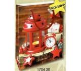 Nekupto Darčeková papierová taška malá 14 x 11 x 6,5 cm Vianočná 1704 30 WBS