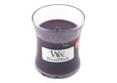 WoodWick Fig - Fík vonná svíčka s dřevěným knotem a víčkem sklo malá 85 g