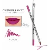 Reverz Contour & Matt Lip Pencil kontúrovacia ceruzka na pery 01 Rose 2 g