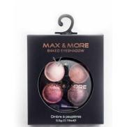 Max & More zapečené oční stíny 439 Burgundy 5,5 g