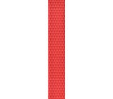 Ditipo Darčekový baliaci papier 70 x 200 cm červený s trojuholníkmi